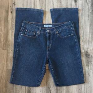 Levi's 515 Boot Cut Jeans Size 8 Long